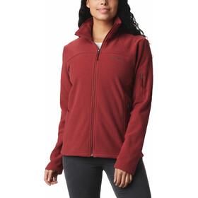 Columbia Fast Trek II Jacket Women marsala red